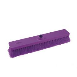 Flacher Kehrbesen violett