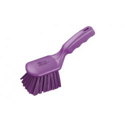 Allzweckbürste mit kuzem Stiel violett