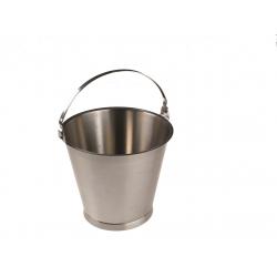 Edelstahleimer, 10 Liter