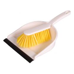 "Hygiene Kehrgarnitur ""Profi"", gelb, soft"