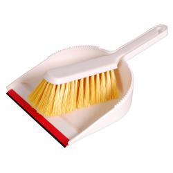 """Hygiene Kehrgarnitur """"Schwere Form"""", gelb"""