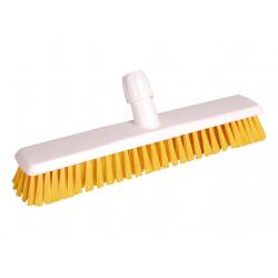 Hygiene Schrupper 40 cm, hard, gelb