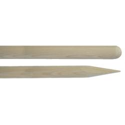Holzstiel gespitzt Totallänge 150 cm