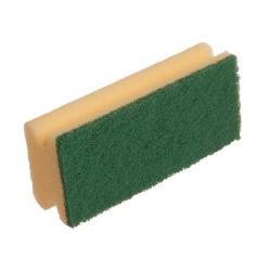 Padschwamm mit grünem Pad